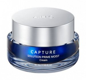 Активно увлажняющий антивозрастной крем AHC capture moist solution max cream, 50 мл