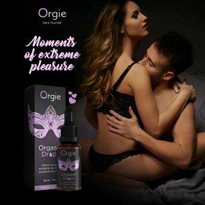 Капли для клитора ORGIE Orgasm Drops, с разогревающим эффектом, 2 мл