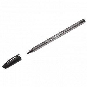 "Ручка шариковая Luxor ""InkGlide 100 Icy"" черная, 0,7мм, трехгран."