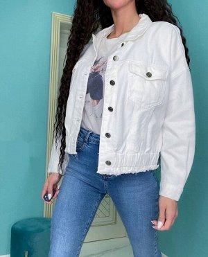 Куртка Модель свободного кроя ☑ Качество отличное  ☑ Хлопок 100% ☑ рост модели 170