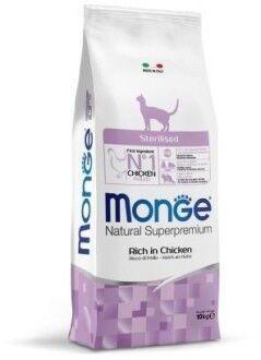 Monge Cat Sterilised корм для стерилизованных кошек 10 кг