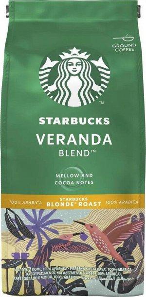 Кофе молотый Starbucks Veranda Blend Blonde Roast 200 г