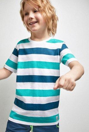 Футболка(Фуфайка) детская для мальчиков Villy полоска