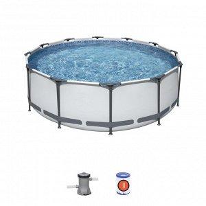 Каркасный бассейн + фильтр+Насос