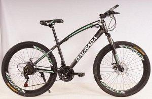 Велосипед 2-х колесный X8 MTB2 (черно/зеленый)