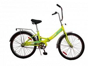 Велосипед Гамма 20 складной ЭКОНОМ (желтый)