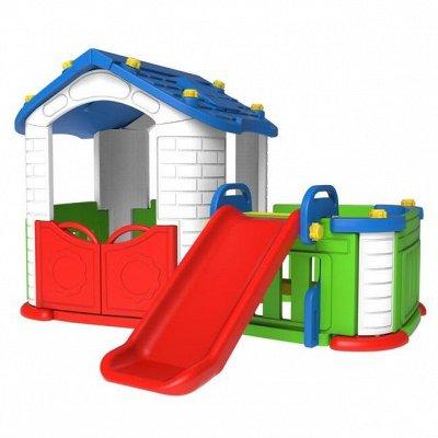 Летний ассортимент. Бассейны, велосипеды, самокаты, ролики.  — Детские игровые  центры для игры на открытом воздухе — Садовая мебель