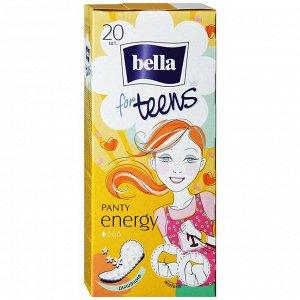 Прокладки ежедневные teens energy deo по 20 шт.