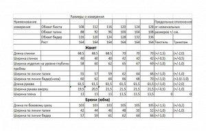 Костюм Костюм Bonna Image 455 слива  Состав: Хлопок-96%; Эластан-4%; Сезон: Весна Рост: 164  Стильный женский костюм, состоит из блузона и брюк. Костюм выполнен в спортивном стиле.Блузон полуприлегаю