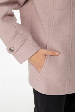Куртка Куртка ANELLI 944 бежевые тона  Состав: ПЭ-9%; Шерсть-29%; ПАН-63%; Сезон: Весна Рост: 164  Куртка из мягкого драпа со съёмным воротником.Прямой силуэт, отложной воротник с лацканами, втачные