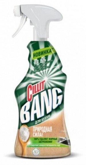 Спрей Природная сила с содой для кухни Cillit BANG, 450 мл