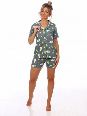 Пижама женская VL-564 Авокадо(олива)
