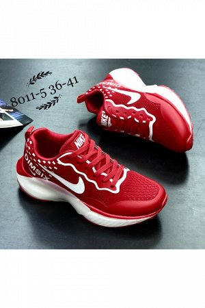 Женские кроссовки 8011-5 красные
