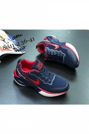 Женские кроссовки 8011-2 темно-синие