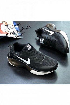 Женские кроссовки 8011-1 черные