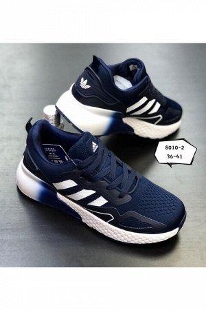 Женские кроссовки 8010-2 темно-синие