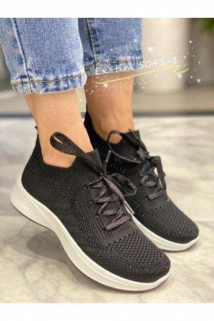 Женские кроссовки 5041-1 черные