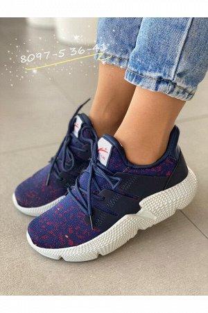 Женские кроссовки 8097-5 синие