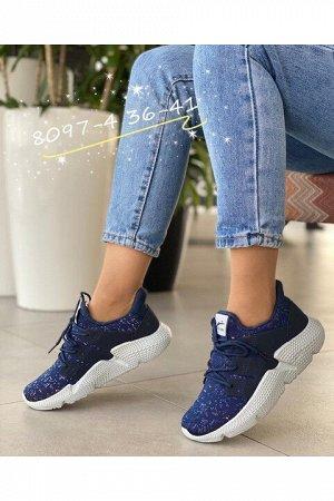 Женские кроссовки 8097-4 синие
