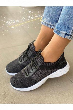 Женские кроссовки 5086-2 черные