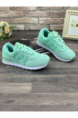 Женские кроссовки S889-21 зеленые
