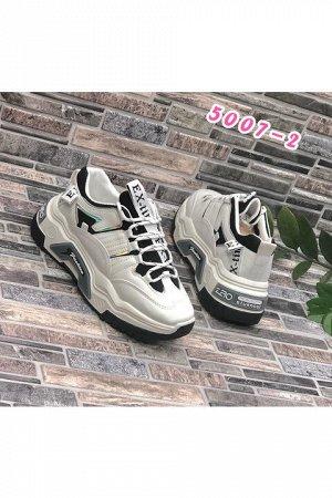 Женские кроссовки 5007-2 белые