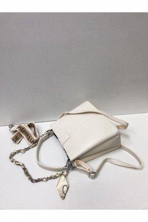 Женская сумка молочная