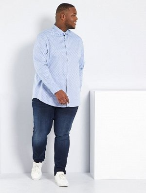 Зауженные джинсы из эластичного хлопка L32