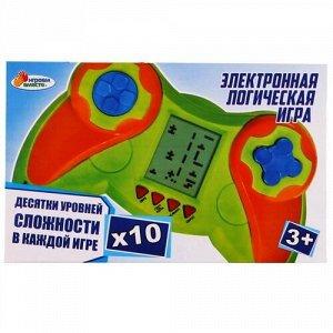 """Игра электронная """"Играем вместе"""" логическая ,кор. 14,5*9*3,8 см"""