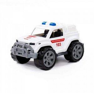 """Автомобиль """"Легион"""" Скорая помощь,сетка 38,5*22,5*20 см"""