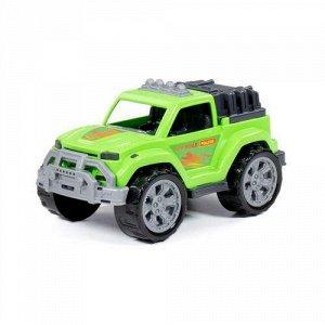 """Автомобиль """"Легионер"""" цв. зеленый, сетка ,27,2*15,3*14,1 см"""