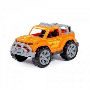 """Автомобиль """"Легионер"""" цв. оранжевый, сетка ,27,2*15,3*14,1 см"""