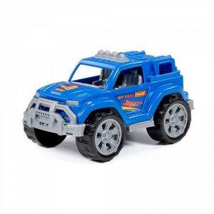 """Автомобиль """"Легионер"""" цв. синий, сетка ,27,2*15,3*14,1 см"""