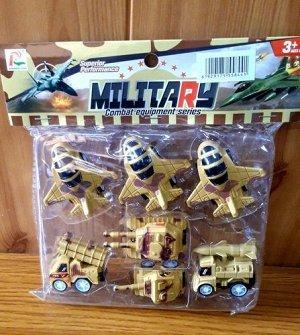 Набор военной техники, пакет 18*15см