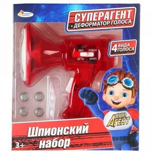 "Набор шпионский ""Играем вместе"" Мегафон,кор.17*15*8 см"