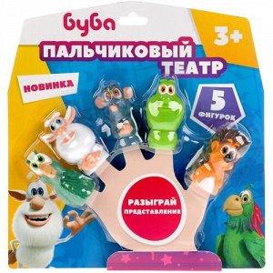 """Игрушка для ванны """"Капитошка"""" Пальчиковый театр.Буба , блист. 6*22*23 см"""