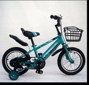 """Велосипед 14"""" (на рост 104-110 см. ) цв. голубой арт. 14-02 (2021)"""