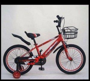 """Велосипед 14"""" (на рост 104-110 см. ) цв. красный арт. 14-02 (2021)"""