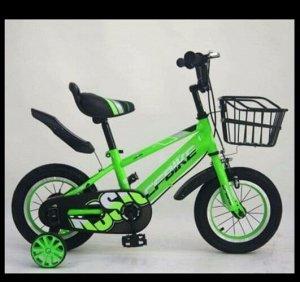 """Велосипед 14"""" (на рост 104-110 см. ) цв. салатовый арт. 14-02 (2021)"""