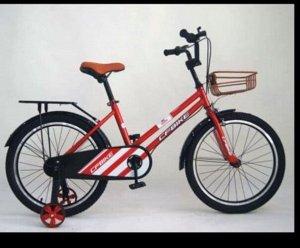 """Велосипед 14"""" (на рост 104-110 см. ), цв. красный  14-01 (2021)"""