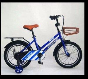 """Велосипед 14"""" (на рост 104-110 см. ), цв. синий  14-01 (2021)"""