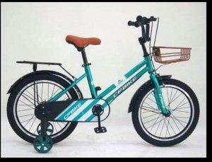 """Велосипед 16"""" (на рост 110-116см.) цв. голубой арт. 16-01 (2021)"""