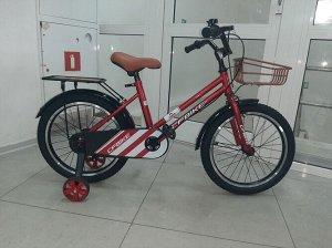 """Велосипед 18"""" (на рост 122-128 см.) цв. красный арт. 18-01  (2021)"""