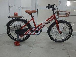 """Велосипед 20"""" (на рост 134-146 см) цв. красный арт. 20-01 (2021)"""