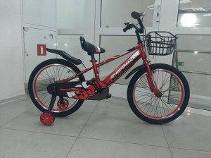 """Велосипед 20"""" (на рост 134-146 см) цв. красный арт. 20-02 (2021)"""