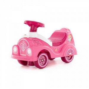 """Каталка-автомобиль """"Дисней.Принцессы"""",57,5*27,5*38 см   тм Полесье"""