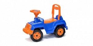 Машина-каталка 4х4 цв.синий ,68*28*48,5 см