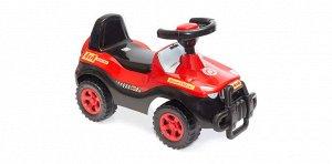 Машина-каталка Джипик цв.черно-красный ,61*38*36 см