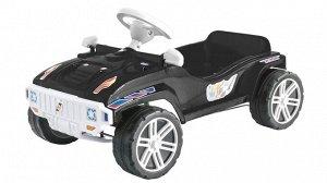 Машинка педальная цв.черный ,80*51*31 см