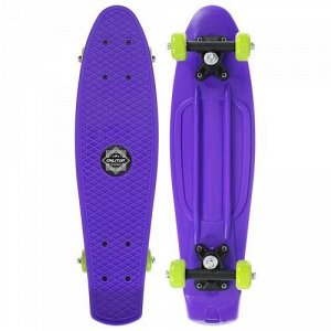 Скейтборд 56*15 см, колеса PVC 50 мм. пластиковая рама,цв. фиолетовый